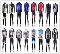 Mens cycling jersey long sleeve culotte invierno ciclismo cycling long shorts