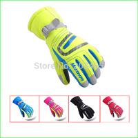 SG19K  Winter Children's  Waterproof Snow Gloves Outdoor Kid's Skiing gloves Snowboarding Gloves For  the Children