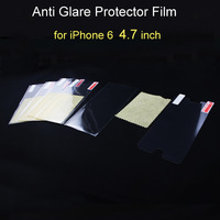 500sets/lot, 100% perfect fitting Anti Glare full body screen protective protector film for iPhone 6 4.7'' inch front & back