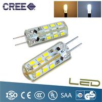 High Power SMD3014 2W 12V G4 LED Lamp Replace 20W halogen lamp g4 led 12v LED Bulb lamp warranty 2 years Freeshipping