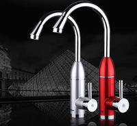 Free shipping Kitchen Instant heating type water heater Rapid heating faucet electric water heater 3KW