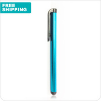 Mini Capacitive Pen Capacitive screen stylus touch pen with clip for iphone 5 iphone 6 iPad mini iPad iPod touch for samsung