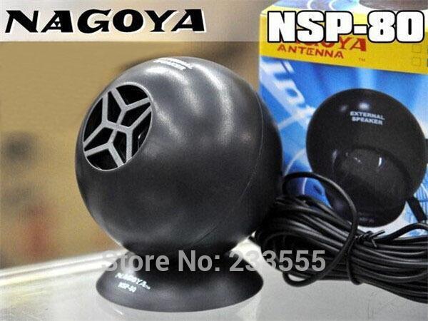 New Nagoya NSP-80 External Speaker for CB ham Radios ICOM Kenwood Yaesu FT-7800 FT-8900(China (Mainland))