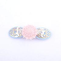 Pink flower women girls wedding hair accessories bridal headwear hair ornaments hairpins for hair FREE SHIPPING