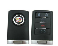 Brand New Replacement Shell Remote key Case Fob 5 Button For CADILLAC ATS SRX STS CTS DTS