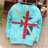 wholesale baby chothing European and  England style baby clothes baby boys wear unisex infant baby girls sweatershirts KT263