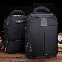 Free shipping dress business bags daily backpacks men oxford black laptop backpack for man bags black bag 14 inches