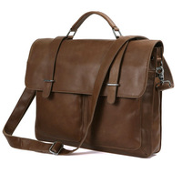 Guaranteed 100% Genuine leather Boutique oil wax leather Men handbag Hashion Personalized man bag