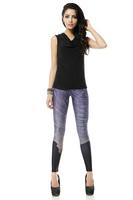 BOB shop 949 digital printing gothic sport punk fitness women leggings legging leggins Pencil pants wholesale