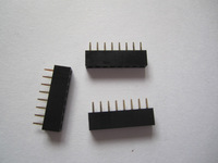 2.54mm Pitch  Socket ,Single  Row,Through Hole,Vertical