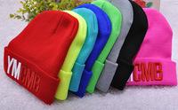 2014 Women and Men Fashion Stretch Knit Cap Hip-hop Candy Color Hat
