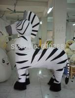 2 person horse mascot costume zebra costume dress outfit