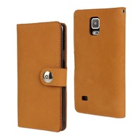 High Quality Fashion Wallet Case For Samsung Galaxy Note 4 N910 Leather Case With Card Holder free shipping