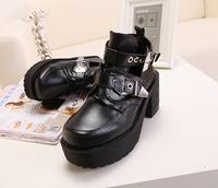 2014 autumn ankle boots heels rock punk coltrane cut out boots women motorcycle boots cool shoes women hollow out shoes 7cm