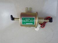 Free shipping High quality electric fuel pump HEP-02A 12V fuel pump for carburetor, motorcycle , ATV