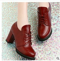 2014 new women's shoes Leisure shoes high heel shoes