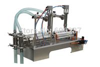 (Free Shipping) Semi-automatic Double-head Liquid Filling Machine (200-2500ml)
