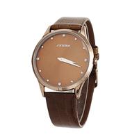 Promote  SINOBI Silver Crystal Quartz Dress Elegant Man Watches, Men'S Watch Belt