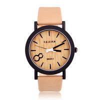 Fashion items zL 4 color world Dial copy wood grain Wristwatches casual bracelet watch outdoor Sports for men women watches