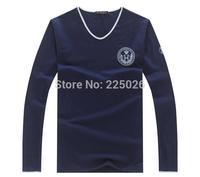 2014 Hot sale T Shirt Men Summer Tshirt T-shirt Men's Long Sleeve Shirt Cartoon Shirt M-XXL New Fashion Sports Breathable Sweat