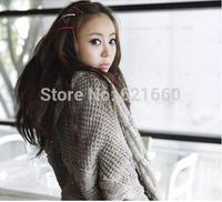 free shipping mix color  3pcs=1 lot  +8.4 cm length +0.4 cm width +fashion long hair clip women fashion south korea design