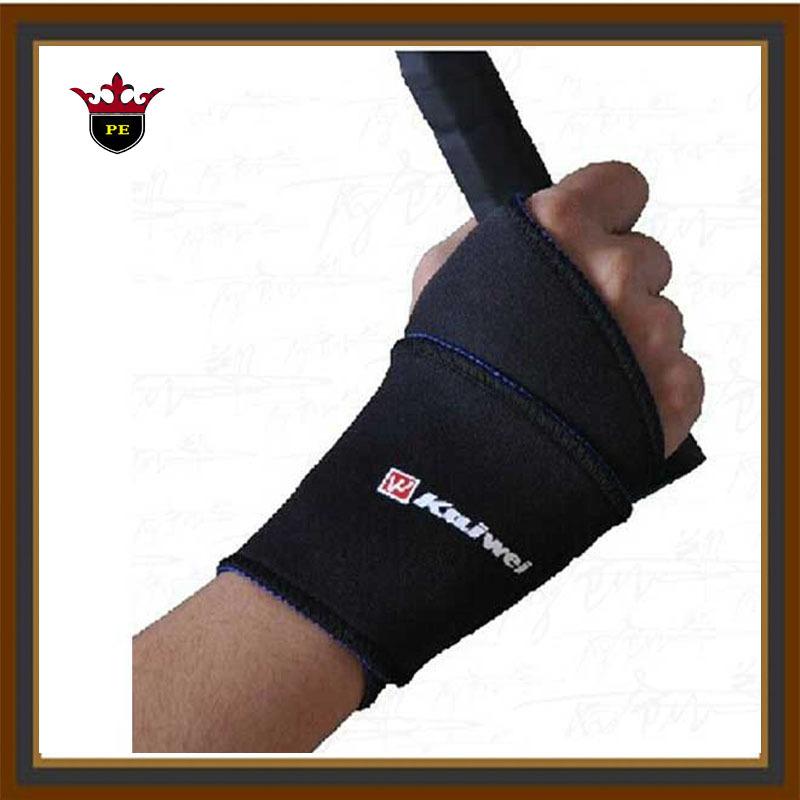 Wristband Wrist Support Basketball Badminton Weightlifting Belt Wrist Protector Bandage wrist wraps 1lot=2pieces 0603(China (Mainland))