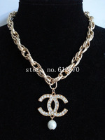 Wohlesale 5pcs New Chunky Metal Chain Choker Necklace Gold Body Chain Jewelry