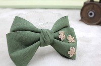 free shipping women hair clip solid color many colors