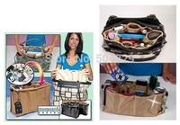 Free Shipping 200pcs/lot(1set=2pcs) Kangaroo Keeper As Seen On TV Purse Organizer Handbag Organizer Nude and Black Color