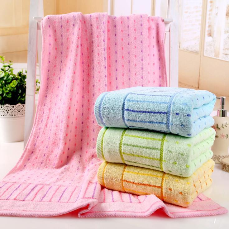 Cotton jacquard bath towel household multi-purpose towel Towel Toiletries 70 * 140cm natural free shipping(China (Mainland))