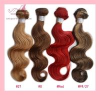 "Brazilian Virgin Hair body wave 3pc 12""-26"" human hair weave Colored hair extension cheap brazilian hair weave bundles no tangle"