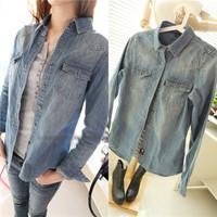 Jeans Jackets Women  Plus Size S-XXL Big Brand Denim jacket Casacos Femininos Desigual Women Coat Slim Casual Classical Blouse
