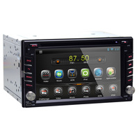 Universal 6.2 inch 2 Din Car DVD Player Interchangeable Android 4.2.2 RADIO  WIFI/3G Support TMPS Torque OBD2 CANBUS GPS