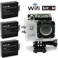 Free Shipping!Original SJCAM SJ4000 WiFi 1080P Sport Action Dash Camera Cam DVR+Free 2 Battery