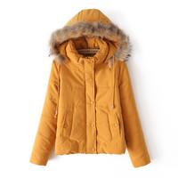 2014 New White Duck Down Jacket Plus Size Brand Parkas For Women Winter Ferret Fur Hat Oversize Coat Winter Coat Women Clothing