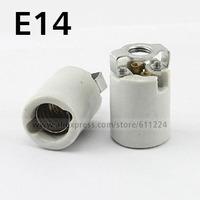 E14 Base Ceramic Lamp Holder Adapter Converter Screw Socket For LED Light Lamp Bulb