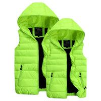 2014 Fashion Simple Style Cotton Filling Warm Colorful Plus Size Women Winter and Autumn Vest Woman Jackets YFZ25