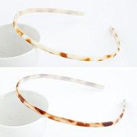 Fashion Leopard Print Resin Hair Band Popular Small Girl Headband Hair Accessories Hair Jewelry