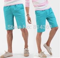 Free shipping 2014 New Summer Men Fashion Casual Beach Cargo Short Pants 7 Colors Brand Mens Sport Shorts