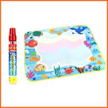 Free Shipping Water Mat Kids Drawing Water Mat Tablet Aqua Doodle 60 * 49cm Water Drawing Board & a Magic Pen Educationnal toys(China (Mainland))