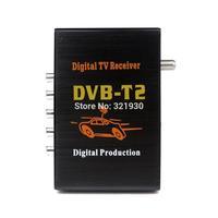 2014 new Car TV Tuners DVB T2 90-120KM/H H.264 MPEG4 Mobile Digital TV Box External USB DVB-T2 Car TV Receiver High Speed HD
