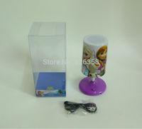Wholesale 12pcs/lot Frozen Desk Lamps/kids Snow Queen Indoor Lighting Book Lights/ Elsa Anna USB Lamps/Table lamps