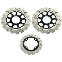 Full Set Front+Rear Brake Disc Rotor For  HONDA CBR RR 929 SC44 2000 2001 2002 CBR 954 RR Fireblade 2001 2002 2003