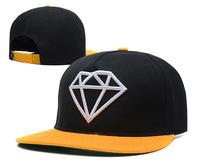 Free shipping 2014 the new Diamond stitching baseball cap men and women adjustable sport hat