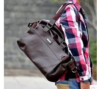 Korean male package 2014 new tide leisure British men's shoulder bag handbag Crossbody Bag Leather Fashion