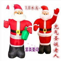 Special Christmas decoration inflatable Santa Claus cartoon model of 1.8 m inflatable Christmas decorationchristmas outdoor deco