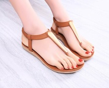 Fashion new 2014 summer shoes women sandal for women flip flops Wedges sandal Girl women pumps sandy beach(China (Mainland))