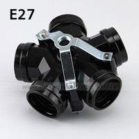 E27 LED Light Lamp Bulb Base Converter Adapter Holder Socket Five E27-piece Holder