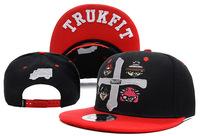 Free shipping 2014 embroidery baseball hat men & women flat brimmed adjustable skateboard cap