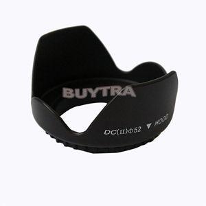Capa de lente de câmera Digital Universal quente para Canon Nikon Blcak Len coifas para câmera 1pc parafuso espiral 52mm